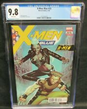 X-Men: Blue #23 (2018) Molina Cover CGC 9.8 White Pages GG010