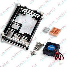 Acrylic Case 9 Layers + Cooling Fan + Heat Sink for Raspberry Pi 3 / 2  Model B