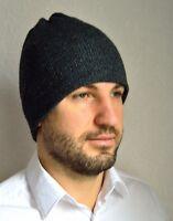 Hand made 100% cashmere men's hat