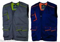 Delta Plus Panoply M6GIL Panostyle Mens Work Vest Gilet Bodywarmer Tool Vest