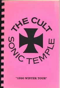 THE CULT - TOUR - ITINERARY - 1990