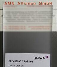 ++ RESTPOSTEN ++ beidseitig satiniert lichtstreuend PLEXIGLAS® Satinice 0F00 DC