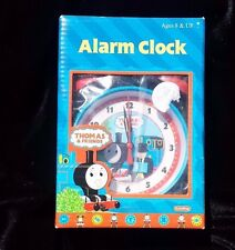 Thomas and Friends Alarm Clock Train Tank Engine Schylling Blue Body Red Bells