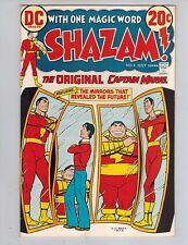 Shazam! #4  The Original Captain Marvel vs IBAC from 1973 VF White Cover