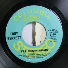 Pop NM ! 45 Tony Bennett - I'Ll Begin Again / Oui non Savoir A Day I DID Amour
