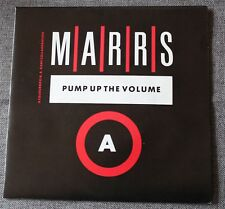 Marrs, pump up the volume / anitina, SP - 45 tours