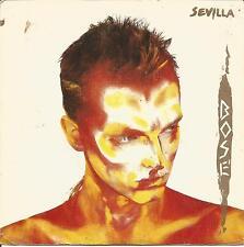 MIGUEL BOSE-SEVILLA + Y FUE SINGLE VINILO 1984 SPAIN REGULAR COVER CONDITION-