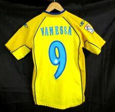 Rare Villarreal KELME #9 VANESSA Spain Soccer Shirt Jersey Boys Large