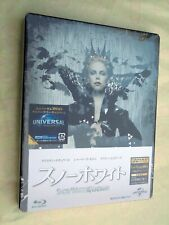 SNOW WHITE AND THE HUNTSMAN Sealed Steelbook Bluray DVD Japan Import