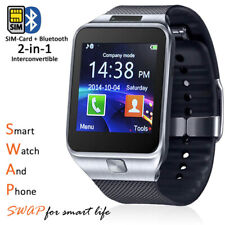 Swap 2-in-1 Gear SmartWatch & Phone + Bluetooth Sync + Optional Sim + Sms