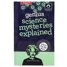 Einstein Genius Science Mysteries Explained Book Fun Facts Questions Kids Gift
