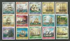 Papua New Guinea, Postage Stamp, #663-676A Mint NH Set, 1987-88 Ships, JFZ