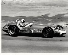 JOE LEONARD 1964 INDY 500 DRIVER 8 X10 ROADSTER #65 TRAVELON TRAILER PHOTO 2