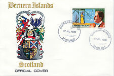 GB Locals - Bernera 3783 - 1978 COMPOSERS - PUCCINI 8p perf on First Day Cover