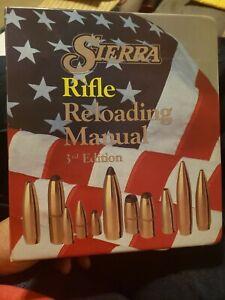 Sierra Rifle Reloading Manual 1989 3rd Edition