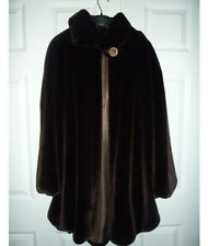 Faux Fur Bridal Cloaks and Capes Jackets