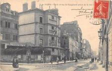 CPA 75 PARIS XVe ECOLE ET RUE DE VAUGIRARD PRISES RUE