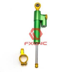 FXCNC Steering Damper Linear Stabilizer For  ZX6R ZX10R NINJA250R 400R