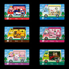 6PCS PVC NFC Cards Animal Crossing New Leaf x Sanrio Series for Switch/3DS