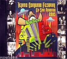 TEJANO CONJUNTO FESTIVAL 2015 CD LIVE at ROSEDALE PARK Flaco Jimenez NEW