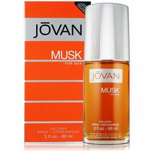 NEW JOVAN MUSK EAU DE COLOGNE SPRAY FOR MEN WITH FREE WORLDWIDE SHIPPING - 88 ML