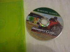 Xbox 360 Mionight Club Motorrad Rennen Spiel