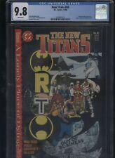 New Titans #60 CGC 9.8-A Lonely Place of Dying early TIM DRAKE appearance BATMAN
