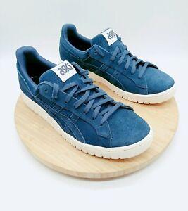 Asics Onitsuka Tiger GEL-PTG Blue Suede Sneaker Shoe [H8A2L] Men's Size 10 New