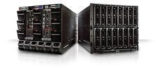 DELL M1000e Blade Enclosure - 3x M620 Server Blades 5x M610 Server Baldes VMWARE