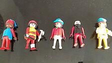 Figuras Vintage De Playmobil Playmo selección Surtido Varios Original X 5 1974