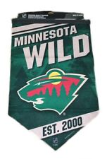 "Minnesota Wild NHL Ice Hockey 17"" x 26"" Wall Flag Pennant"