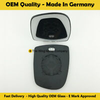 Wing Mirror Glass Nissan Primaster Clip On Heated Fits to reg 01 To 0 Covex RHS