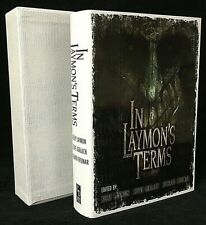 Multi-Signature Limited Edition Slipcased 'In Laymon's Terms' Hardcover Book OOP