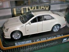 Luxury Collectables - 2009 Cadillac CTS-V white - 1:43 Made in China #100433