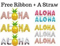 "16"" Aloha Hello Foil Balloons Hawaiian Beach Party Decoration Summer Baloons.."