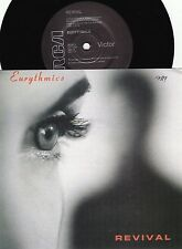 Eurythmics ORIG OZ PS 45 Revival NM 89 RCA DA17 New wave Synth Pop Annie Lennox