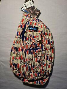 "KAVU Rope Sling Bag ""MESA""  One Size women's NWT"