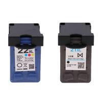 2Piece Ink Cartridge High Yield 21XL/22XL for HP D1360/D1460/D2360