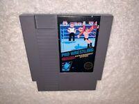 Pro Wrestling (Nintendo Entertainment System) NES Authentic 5 Screw Game Exc!