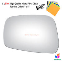 NEW fit 05 & Up Frontier Pathfinder Xterra Equator Driver Side Mirror Glass#4043