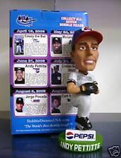 Andy Pettitte NY Yankees Pitcher Bobble Bobblehead SGA from 2003 Greensboro Bats