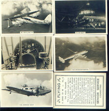 1938  SENIOR SERVICE CIGARETTES CARDS FLYING  42/48