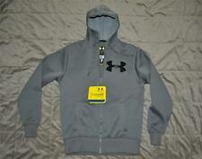 Under Armour Rally Storm Mens Hoodie Hoody Graphite Gray Small NWT FAST HANDLING