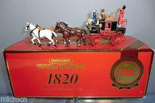 MATCHBOX  MODEL YS-39 PASSENGER COACH & HORSES C.1820   MIB