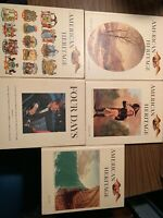 5 American Heritage Book Lot INC;Four Days JFK, 1960, 1964-65