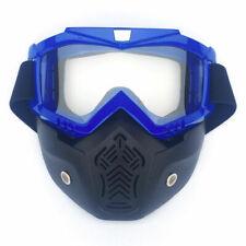 Safety Full Face Shield Mask Protective UV Goggles Eye Work Lab Eyewear Glasses