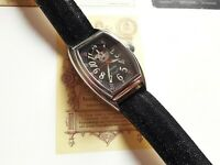 EPOS SWISS WRIST WATCH 25 JEWELS AUTOMATIC ALL STEEL FRANCK MULLER SHAPE FOR MEN
