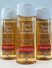3 X Neutrogena Body Clear Body Wash ( 8.5 oz each )