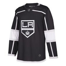 Men s adidas NHL La Kings Authentic Home Jersey Black Silver White Sz 50  Ca7090 cec62b559