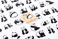 45 piece New Cartoon Panda Sticker lot For Craft Diary Scrapbook Album